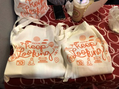 Loot Bag from 1st travel fest