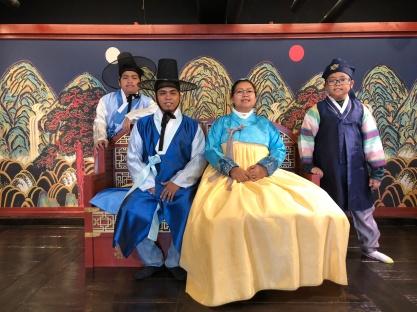Hanbok Experience at Namsan